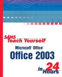 Sams Teach Yourself Office 2003 in 24 Hours-cover