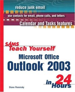 Sams Teach Yourself Microsoft Office Outlook 2003 in 24 Hours-cover