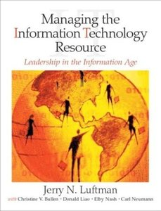 Managing the Information Technology Resource: Leadership in the Information Age (Paperback)