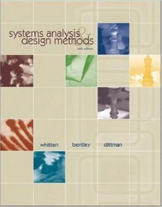 Systems Analysis and Design Methods, 6/e