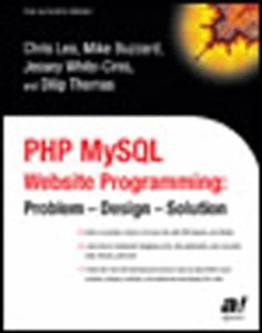PHP MySQL Website Programming: Problem - Design - Solution-cover