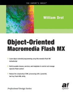 Object-Oriented Macromedia Flash MX-cover