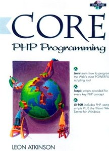 Core PHP Programming, 3/e (Paperback)-cover