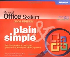 Microsoft Office System Plain & Simple -- 2003 Edition-cover