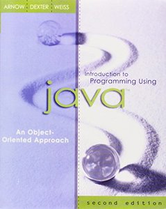 Introduction to Programming Using Java : An Object-Oriented Approach, 2/e-cover