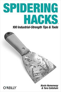 Spidering Hacks (Paperback)-cover