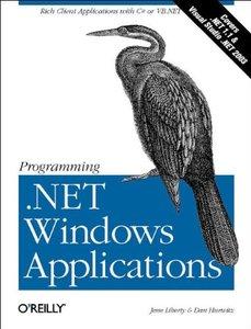 Programminig .Net Windows Applications-cover