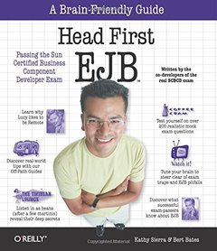 Head First EJB: Passing the Sun Certified Business Component Developer Exam-cover