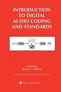 Introduction to Digital Audio Coding and Standards (Hardcover)-cover