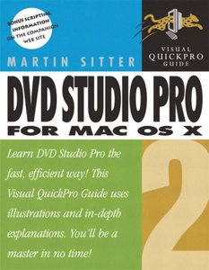 DVD Studio Pro 2 for Mac OS X: Visual QuickPro Guide-cover