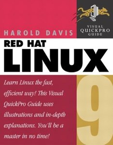 Red Hat Linux 9 (Visual QuickPro Guide)-cover