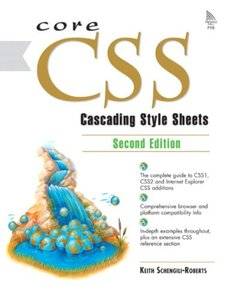 Core CSS: Cascading Style Sheets, 2/e (Paperback)-cover