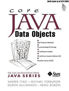 Core Java Data Objects (Paperback)-cover