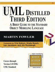 UML Distilled: A Brief Guide to the Standard Object Modeling Language, 3/e (Paperback)-cover