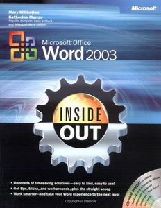Microsoft Office Word 2003 Inside Out-cover