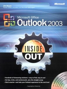 Microsoft Office Outlook 2003 Inside Out-cover