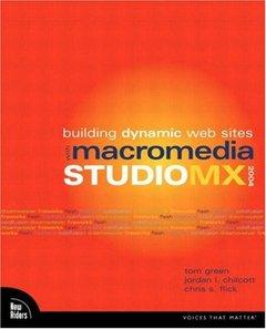 Building Dynamic Web Sites with Macromedia Studio MX 2004 (Paperback)-cover