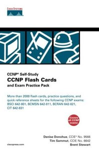 CCNP Flash Cards and Exam Practice Pack (Paperback)-cover
