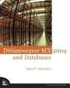 Macromedia Dreamweaver MX 2004 and Databases (Paperback)-cover
