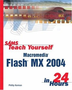 Sams Teach Yourself Macromedia Flash MX 2004 in 24 Hours, 2/e-cover