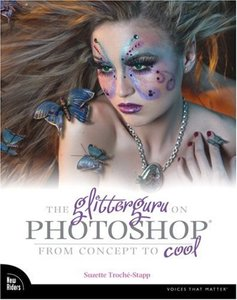 The Glitterguru on Photoshop: From Concept to Cool-cover