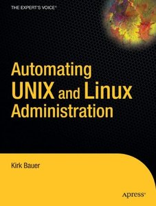Automating Unix and Linux Administration (Paperback)-cover