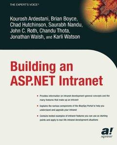 Building an ASP.Net Intranet (Paperback)-cover