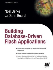 Building Database Driven Flash Applications (Paperback)-cover