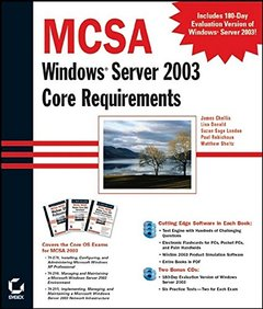 MCSA: Windows 2003 Core Requirements (70-270, 70-290, 70-291)-cover
