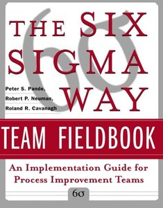 The Six Sigma Way Team Fieldbook: An Implementation Guide for Process Improvement Teams-cover