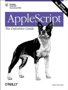 Applescript : The Definitive Guide (Paperback)-cover