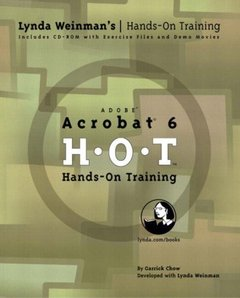 Acrobat 6 Hands-On Training (Paperback)-cover