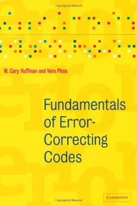 Fundamentals of Error-Correcting Codes (Hardcover)-cover