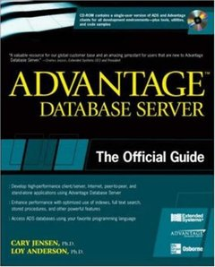 Advantage Database Server: The Official Guide-cover