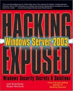 Hacking Exposed Windows Server 2003-cover