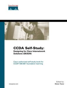 CCDA Self-Study: Designing for Cisco Internetwork Solutions (DESGN) 640-861-cover