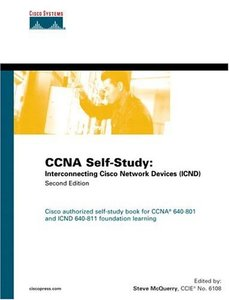 CCNA Self-Study: Interconnecting Cisco Network Devices (ICND) 640-811, 640-801, 2/e-cover