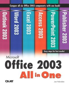 Microsoft Office 2003 All-in-One-cover