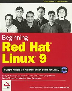 Beginning Red Hat Linux 9-cover