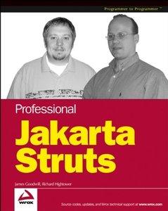 Professional Jakarta Struts-cover
