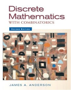 Discrete Mathematics with Combinatorics, 2/e (Hardcover)-cover