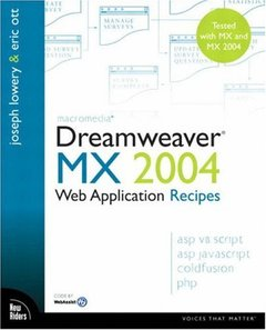 Macromedia Dreamweaver MX 2004 Web Application Recipes (Paperback)-cover