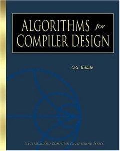 Algorithms for Compiler Design-cover