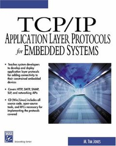 TCP/IP Application Layer Protocols for Embedded Systems-cover