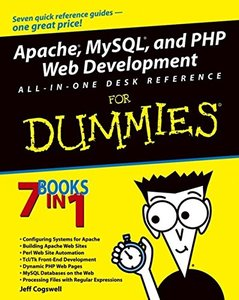 Apache, MySQL, and PHP Web Development All-in-One Desk Reference For Dummies-cover