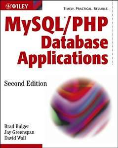 MySQL/PHP Database Applications, 2/e-cover