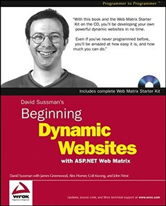 Beginning Dynamic Websites : with ASP.NET Web Matrix (Paperback)-cover