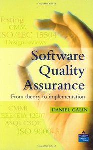 Software Quality Assurance: From Theory to Implementation-cover