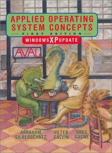 Applied Operating System Concepts, Windows XP Update-cover
