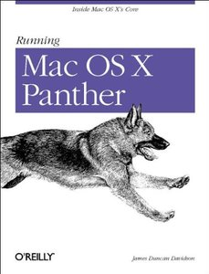 Running Mac OS X Panther (Paperback)-cover